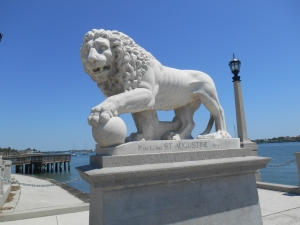 Lions of the bridge